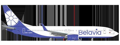 Aircraft Fleet - BELAVIA - Belarusian Airlines
