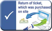 How to return ticket